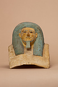 Canopic jar head of Kay