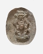 Mold for a Bes Amulet