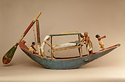 Model boat of Ukhhotep
