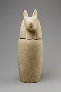 Canopic jar with head of jackal (Duamutef)