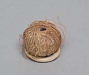 Ball of weaving thread