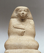 Male squatting figure of Wekhaher (wh' Hr ?)