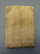 Miniature Linen Sheet From Foundation Deposit 2 of Hatshepsut's Valley Temple