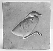A Mold for Metalwork Depicting a Bird