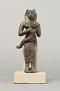 The goddess Wadjet with the Horus-child