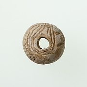 Bead with the name of Amenemhat II