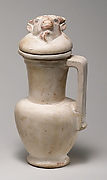 Jug and Lid with the Head of an Ox