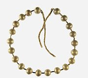 Gold Necklace of the Child Myt