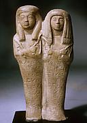 Double Shabti of Khaemwaset and Mesyt