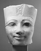 Head of an Osiride Statue of Hatshepsut Originally in the Temple Sanctuary SE Corner