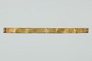 Amulet, sheet gold, bracelet