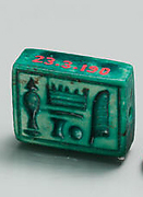 Plaque Bead with name of Amenhotep I