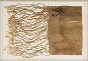 Mummy bandage inscribed with a wedjat eye