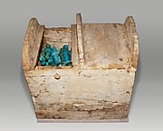 Shabti Box of Henettawy (C), Daughter of Isetemkheb