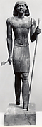 Standing Statue of Merti with flaring wig