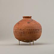 Jar with raised decoration