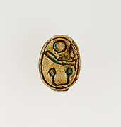 Scarab Inscribed with the Throne Name of Amtenhotep I