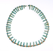 Necklace with Bes amulets