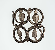 Part (?) of a bracelet or armlet with uraei