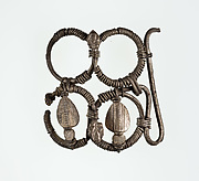 Part (?) of a bracelet or armlet with uraei