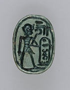 Scarab Inscribed With the Throne Name of Thutmose IV
