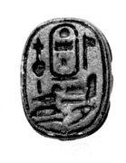 Scarab, Thutmose III