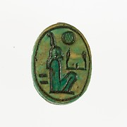 Scarab Inscribed with the Name Maatkare (Hatshepsut)