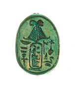 Scarab Inscribed Perfect God, Lord of the Two Lands Maatkare (Hatshepsut), Given Life Forever