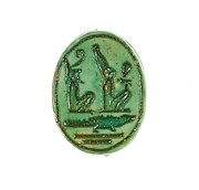 Scarab Inscribed King of Upper and Lower Egypt, Sobek Crocodile