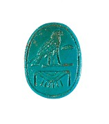 Scarab Inscribed Female Golden Horus