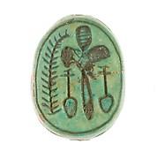 Scarab Inscribed with a Hieroglyphic Motif
