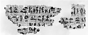 Letter with hieratic inscription