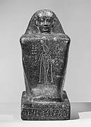 Block Statue of Neskhemenyu, son of Kapefha