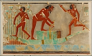 Men Gathering Papyrus, Tomb of Puyemre