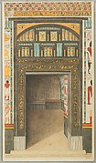 Decorated Doorway to North Chapel, Tomb of Puyemre