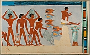 Fish Preparation and Net Making, Tomb of Amenhotep