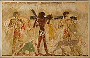 Facsimile painting from the tomb of Rekhmire