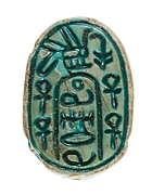 "Canaanite Scarab of the ""Anra"" Type"