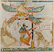 Anubis Weighing the Heart, Tomb of Nakhtamun