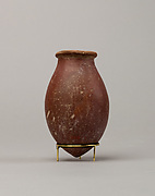 Red polished ware jar