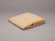 Sheet, woven linen mark, medium spin, medium weave
