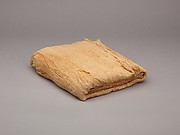 Sheet, linen mark, medium spin, irregular weave