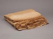 Sheet with linen mark, coarse spin, medium weave