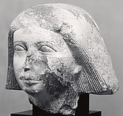 Head of a statue