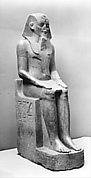 Colossal Statue of  Amenhotep III Reinscribed by Merneptah