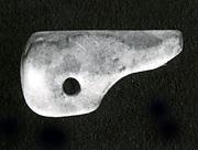 Anubis head amulet
