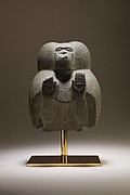 Statuette depicting a worshipping baboon