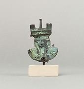 Hathor sistrum head