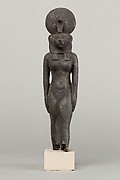 A lion headed goddess, possibly Wadjet