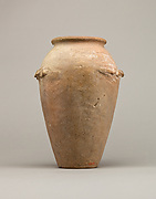Wavy-handled jar